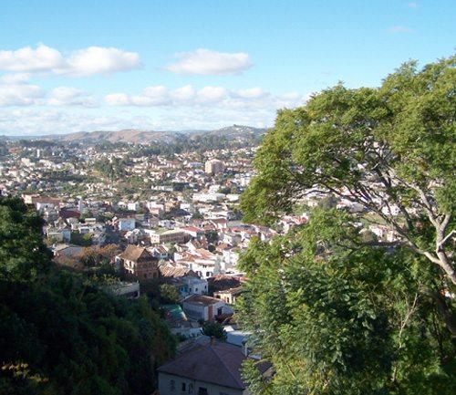 Vue exceptionnelle sur Antananarivo
