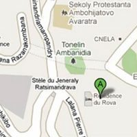 Plan de situation Résidence du Rova
